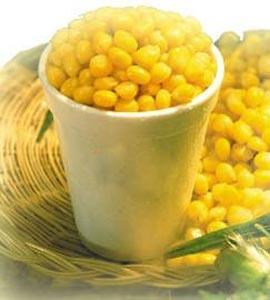 Malezya mısır Tam tane Bardakta Mısır