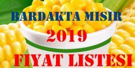 Bardakta mısır 2019 Fiyat listesi